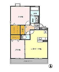 MM−III[205号室]の間取り