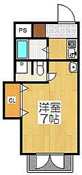 東山ガーデンテラス[4階]の間取り