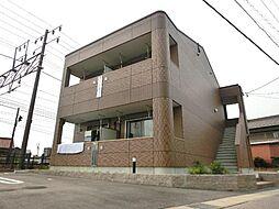 愛知県稲沢市六角堂東町4の賃貸アパートの外観