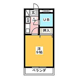 サンコートYOSIKAWA[2階]の間取り