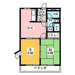 フォレストIII[1階]の間取り