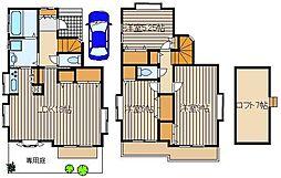 [一戸建] 東京都練馬区大泉町3 の賃貸【/】の間取り