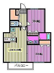 ゴーチェ[1階]の間取り