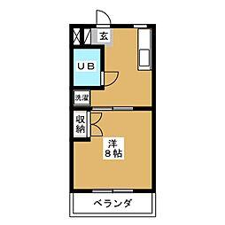 エネトピアIII[1階]の間取り