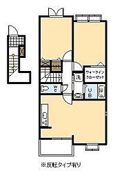 マーベラス ヒル Ⅱ[2階]の間取り