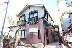 東京都調布市深大寺元町3丁目の賃貸アパートの外観