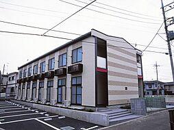 神奈川県海老名市大谷北4の賃貸アパートの外観