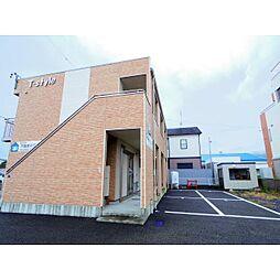 静岡県静岡市駿河区広野の賃貸アパートの外観