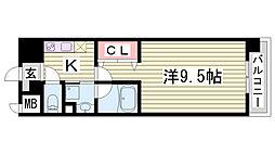 HESTIA神戸[10階]の間取り