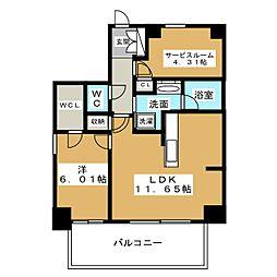 kamiya Bldg 東桜[2階]の間取り