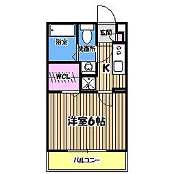 リブリ・調布神代パーク[2階]の間取り