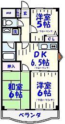 さつきマンション[1階]の間取り