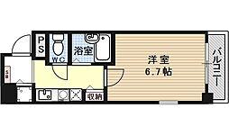 プレサンス京都東山City Life[601号室号室]の間取り