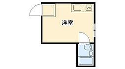 兵庫県西宮市分銅町の賃貸マンションの間取り