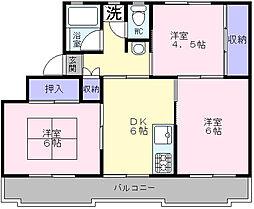 i−Cube[4階]の間取り