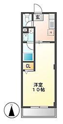 三沢第2マンションりわ[2階]の間取り
