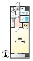 新栄アーバンハイツ[2階]の間取り