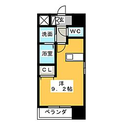 プレサンス名古屋STATIONザ・シティ[4階]の間取り