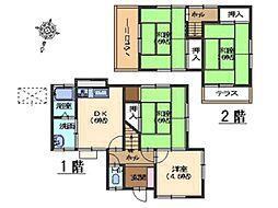 [一戸建] 広島県広島市西区井口1丁目 の賃貸【/】の間取り