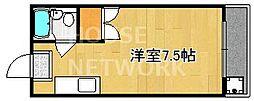 メゾン中川[105号室号室]の間取り