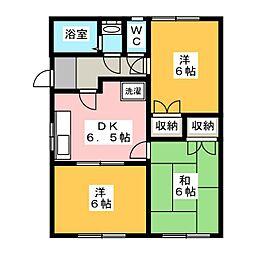 アーバンミキ[2階]の間取り