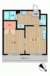 ポントワーズ代田[0303号室]の間取り