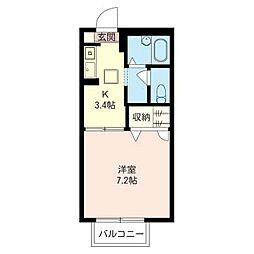 サン・ライズ[1階]の間取り