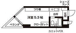 メモリアルメゾンあべの[3階]の間取り