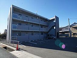 静岡県浜松市浜北区高畑の賃貸マンションの外観