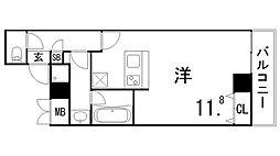 Villa Maria[3階]の間取り