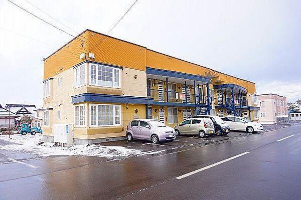 エスパニア8AB 2階の賃貸【北海道 / 上川郡東川町】