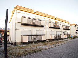 栃木県宇都宮市雀の宮7丁目の賃貸アパートの外観