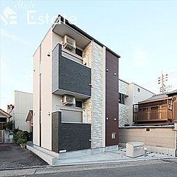 愛知県名古屋市南区鳥栖2丁目の賃貸アパートの外観