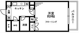 ソナーレ立川II[305号室]の間取り