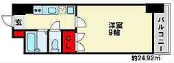 福岡県福岡市南区大楠1丁目の賃貸マンションの間取り
