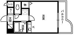 コーポマサキ[5階]の間取り