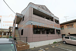 福岡県福津市中央6丁目の賃貸アパートの外観