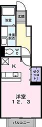 ドリームハウス[1階]の間取り