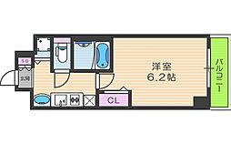 ダイドーメゾン梅田[2階]の間取り