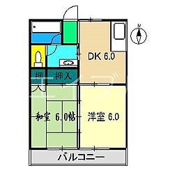 MFマンション[1階]の間取り