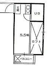 グリーンハイツ14[2階]の間取り