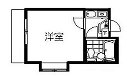 ジュネパレス津田沼第09[203号室]の間取り