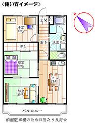 第2原田ビル[103号室]の間取り