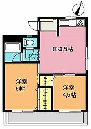 レヂオンマンション[3階]の間取り