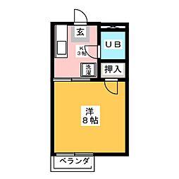 ハイムサトウ[2階]の間取り