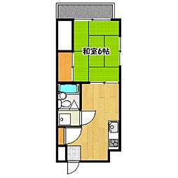グランビア[2階]の間取り
