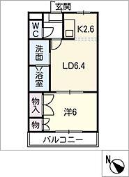 プロニティハイム[1階]の間取り
