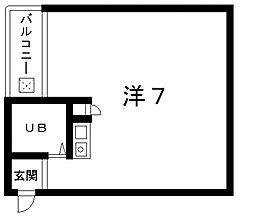 シティコーポ上汐[5階]の間取り