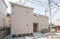 神奈川県横浜市中区西竹之丸の賃貸アパートの外観