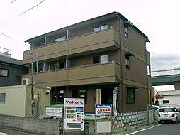 埼玉県さいたま市桜区西堀の賃貸アパートの外観